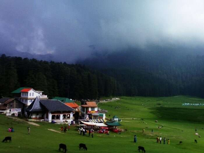 Dalhousie is a quaint little romantic hill resort, perfect for a laid back honeymoon, in Himachal Pradesh