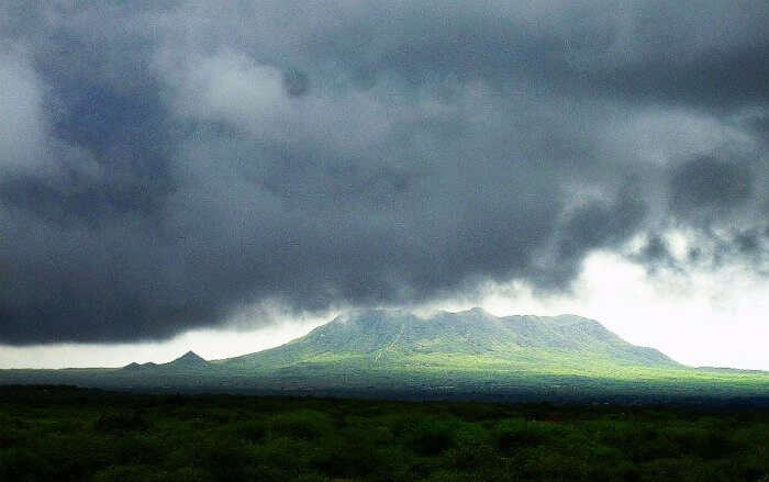 Monsoon Clouds over Dhinodhar hill Kutch