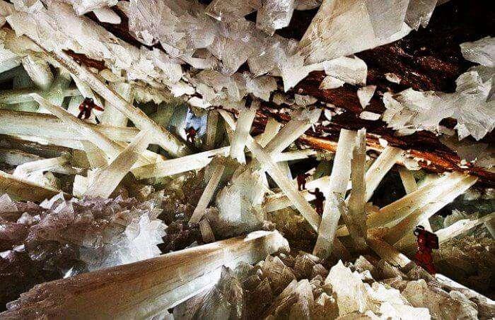 Go caving at Naica Mine Mexico
