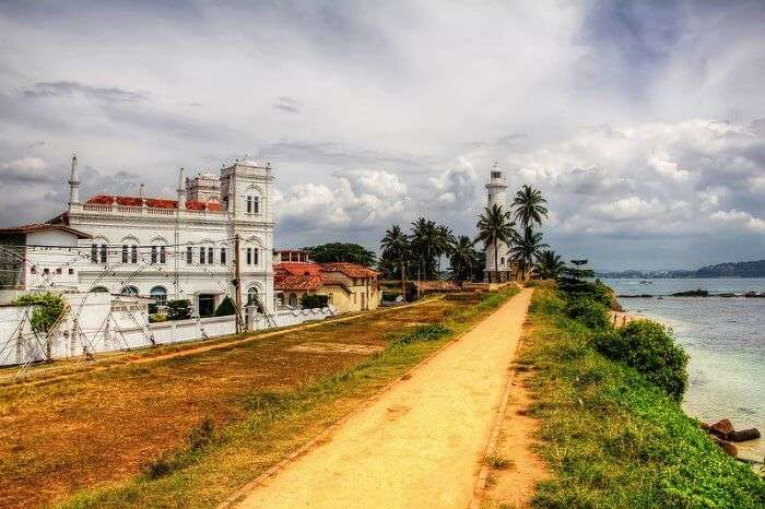 Old Dutch Fort at Galle