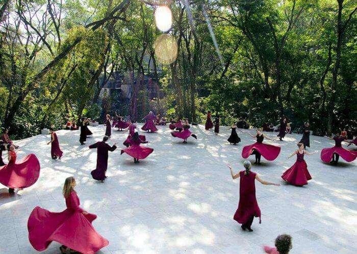 one of the best spiritual retreats in India, Osho Meditation Resort