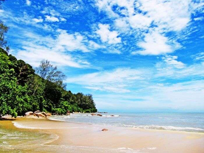 idyllic beach honeymoon destination in Malaysia known for its pristine sandy beaches and azure waters