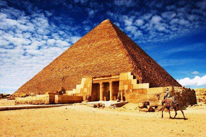 Explore for the mysteries of our existence at Pyramids of Giza