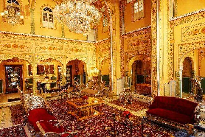 Raj Palace in Jaipur