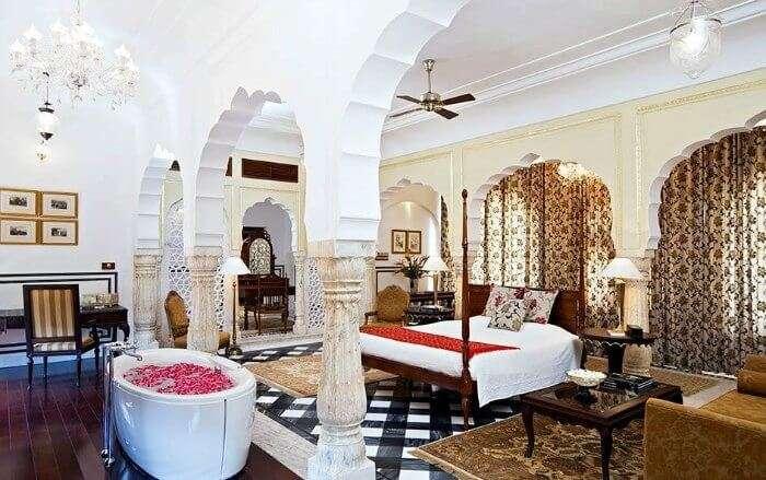 Samode Palace in Jaipur