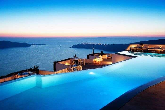 Plan your first anniversary at one of the most romantic destinations in the world - Santorini