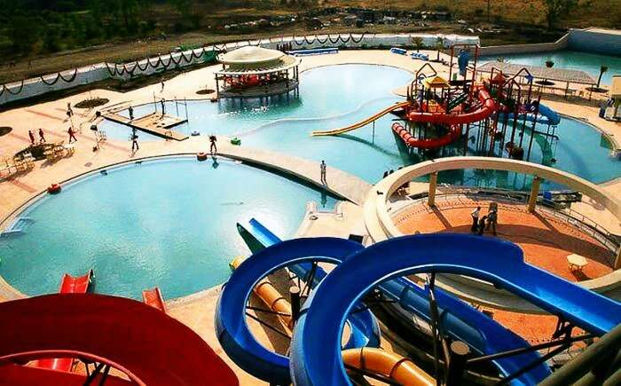 Water rides at Sentosa Resort near Pune