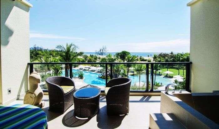 Shangri-la Rasa Ria Resort in Kota Kinabalu is amongst the best honeymoon resorts in Malaysia