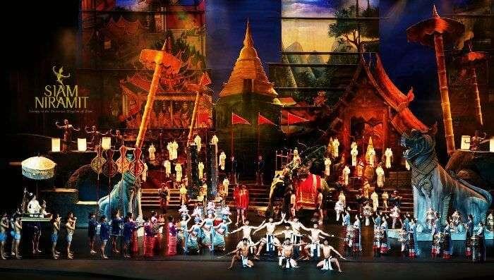 Siam Niramit cultural night show in Bangkok