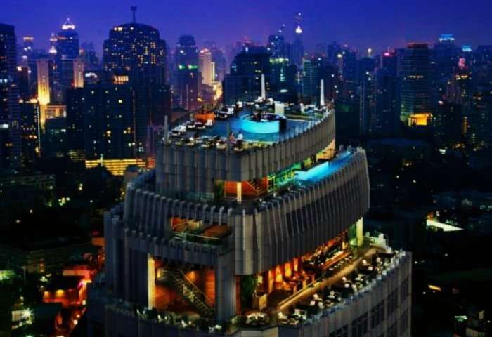 Sky bar is one of the must visit nightclubs and bars in Bangkok