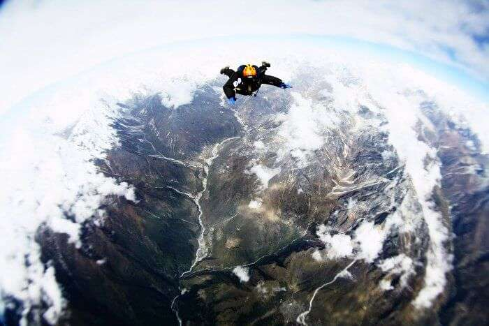 Skydiving- Mt. Everest- It just doesn't get better than this!