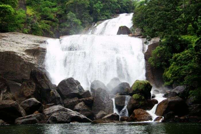 Tadimada waterfall near Hyderabad is the most scenic getaways during monsoons