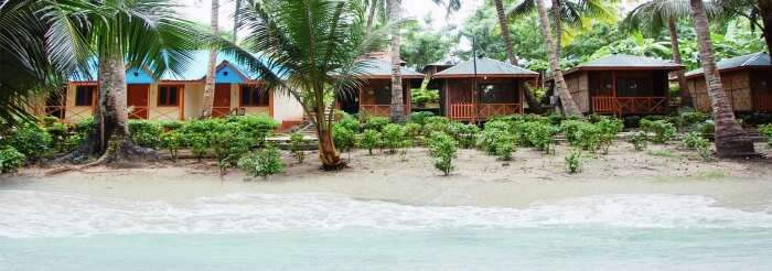 Situated right by the sea, Tango Beach Resort at Neil Island