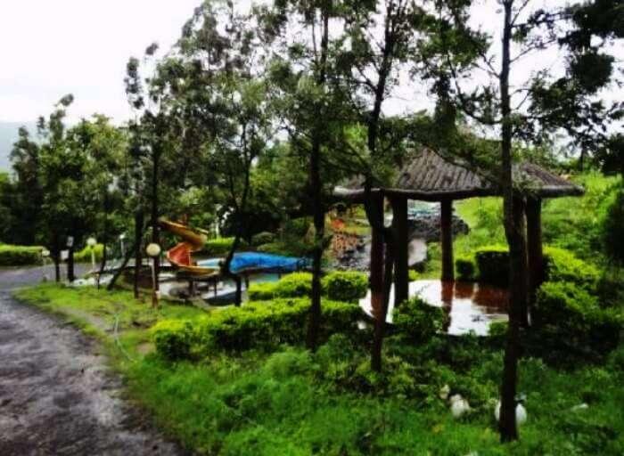 The Lake weekend resort near Pune