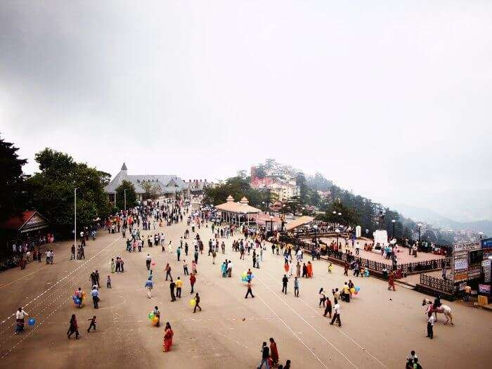 The Shimla Ridge is amongst the many popular tourist attractions in Shimla