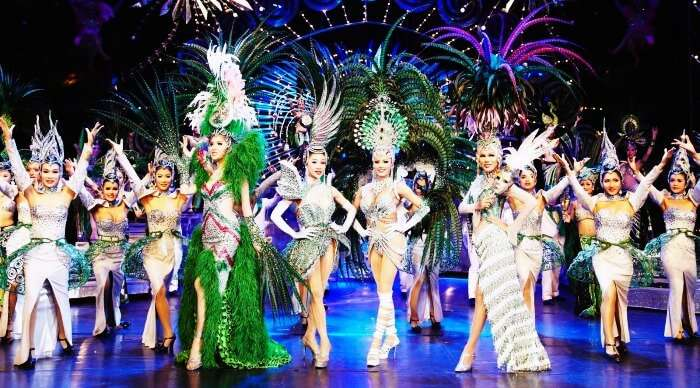 Watching Tiffany's Cabaret Show in Pattaya is one of the best things to do in Bangkok on your 5 day trip