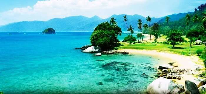 One of the best island honeymoon destinations in Malaysia secluded from the masses perfect for privacy