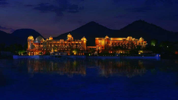Udaipur is an amazingly luxurious honeymoon destination in India in monsoon