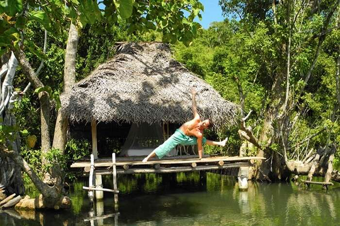 famous yoga retreat in Sri Lanka