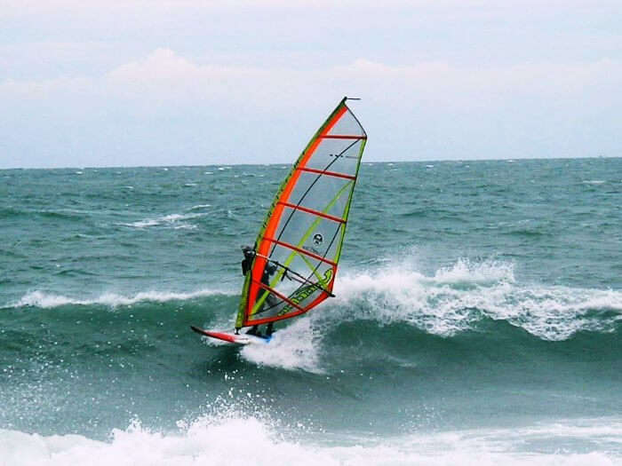 Windsurfing is one of the best waters sports in Thailand