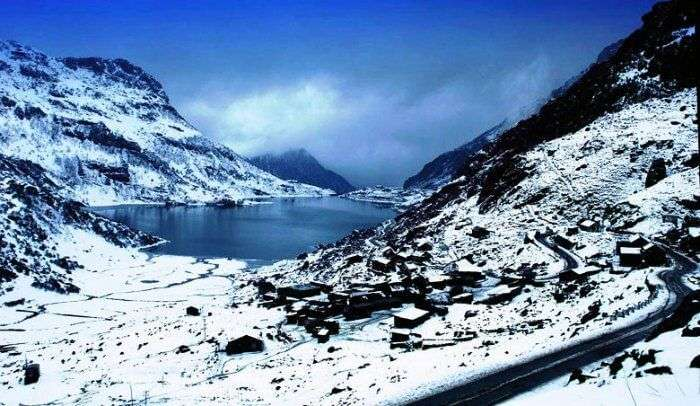 One of the most scenic cycling routes in India is from Gangtok to Nathulapass