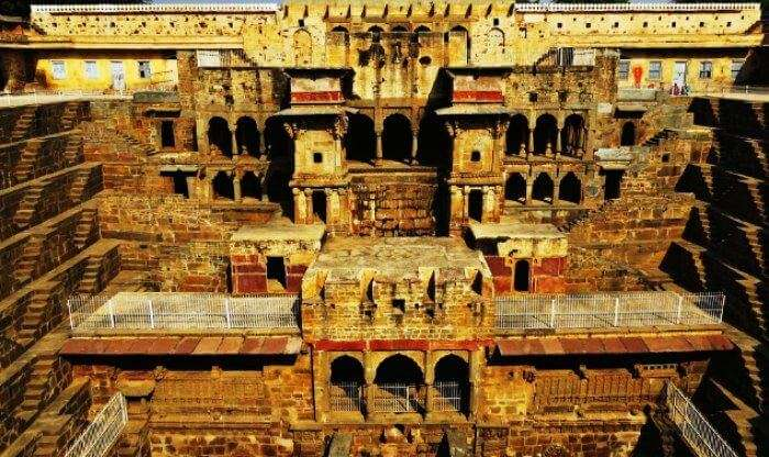 Chand Baori in Dausa, Rajasthan