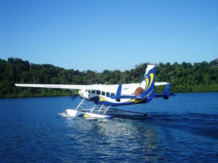 seaplane in andaman
