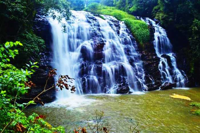 Abbey falls in Coorg are one of the most popular waterfalls near Bangalore and in South India
