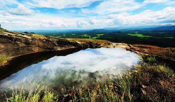 A photograph of the scenic beauty at Agumbe-Karnataka