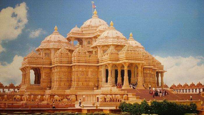 Akshardham in New Delhi