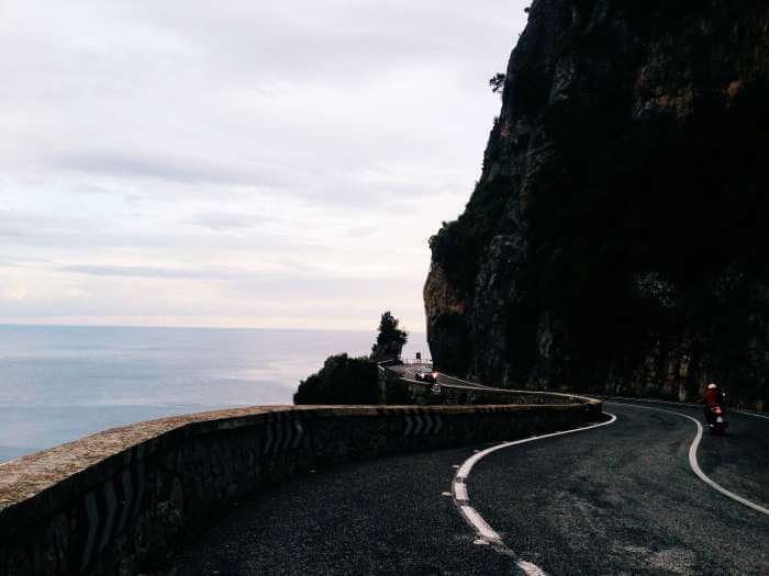 The Amalfi Coast Road, Italy