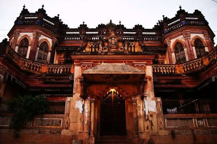 Antique Architecture at Chettinad