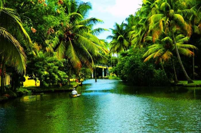 Backwaters of Alleppey, Kerala