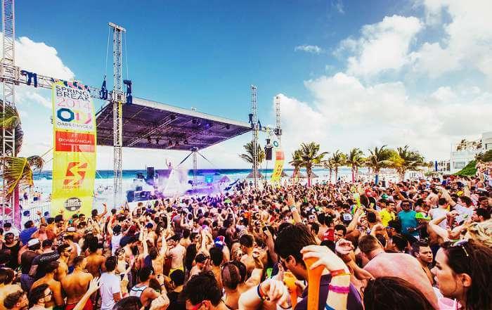 Beach Parties in Cancun