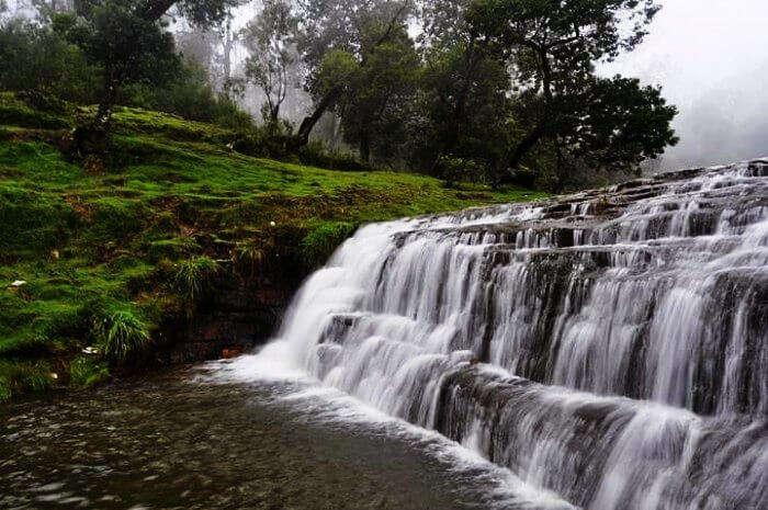Bear Shola Falls in Kodaikanal