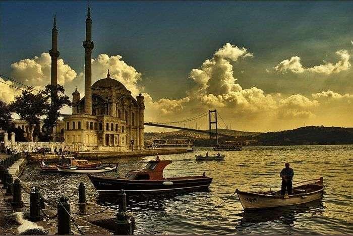 Bosphorus cruise in Turkey