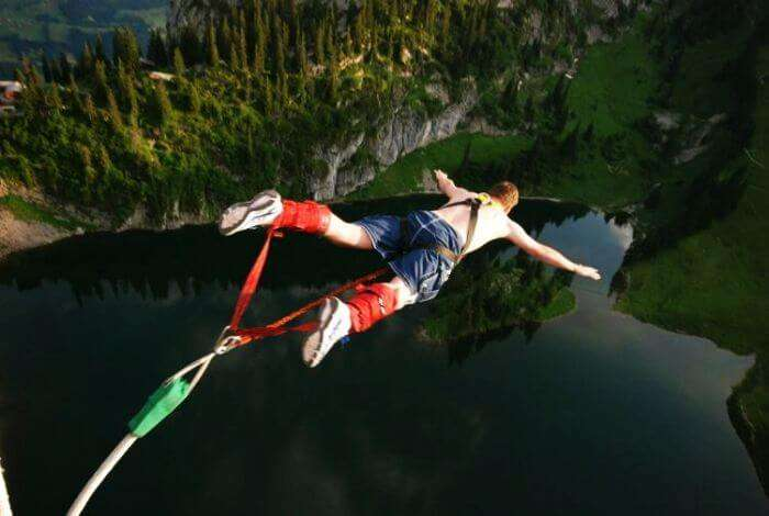 Asia's highest bungee jumping in Rishikesh