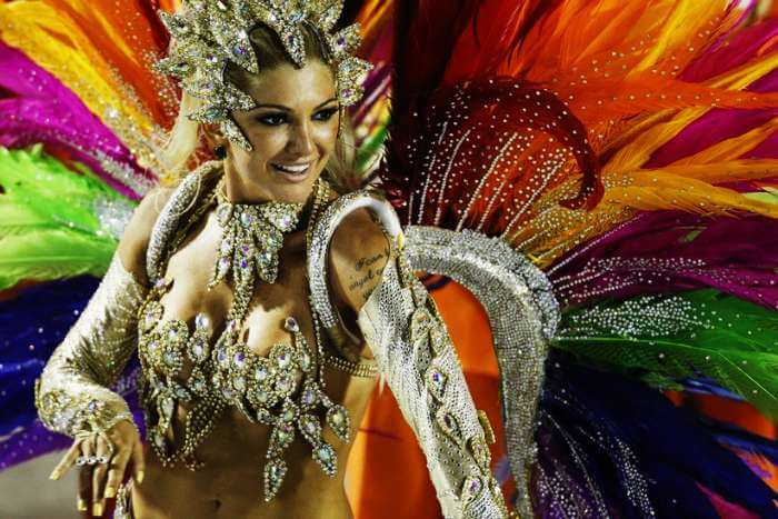 Carnival in Rio de Janerio in Brazil