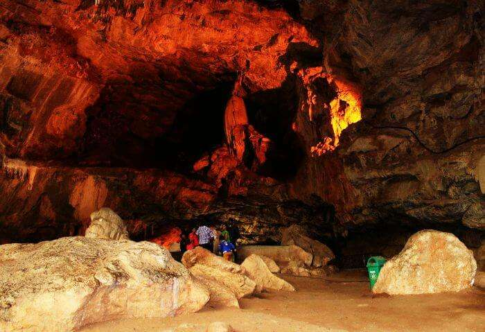 Rock caves of Antaragange near Bangalore