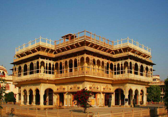 A must in your list of places to see in Jaipur is the beautiful City Palace