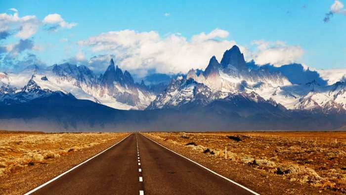 The Road to Fitzroy Mountains, Argentina