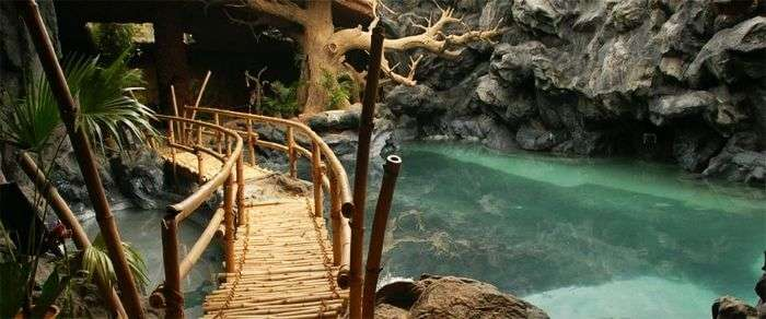 The first underground cave resort-Guhantara Cave Resort