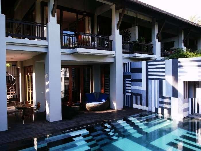 The classic interiors of Indigo Pearl beach resort
