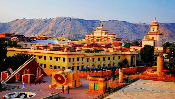 An important one among tourist attractions in Jaipur is Jantar Mantar