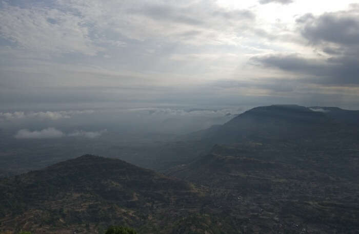 View of Kalsubai Peak Trek