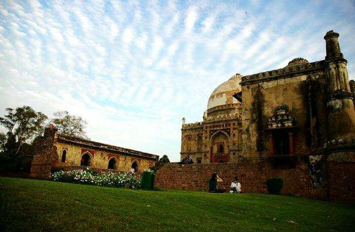 A: Lodhi Garden, one of the best romantic places for couples in Delhi