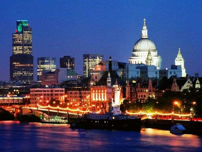London, UK Skyline
