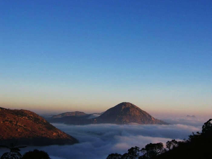 Morning at Nandi Hills