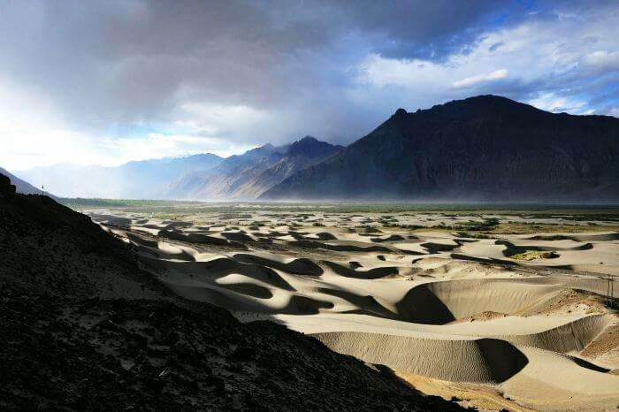 The ethereal morning at Nubra Valley