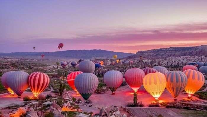 On A Hot-Air Balloon